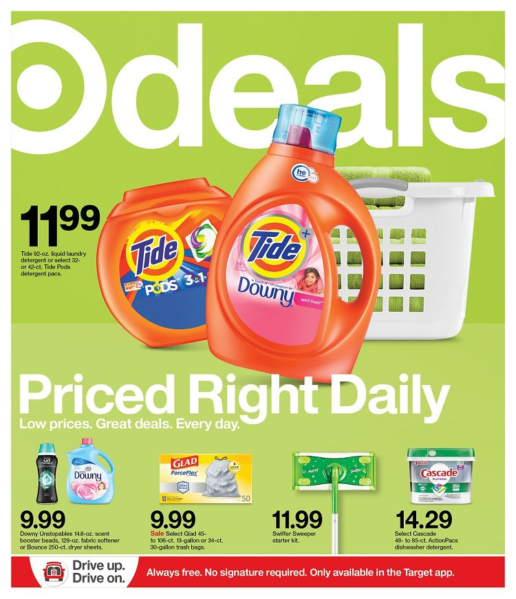 Target September Weekly Ad valid from Sep 6 – 12, 2020