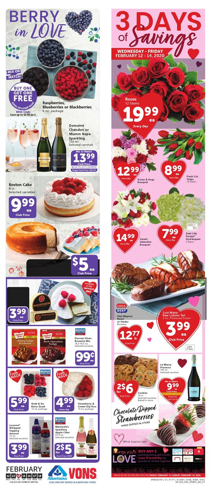 vons weekly ad feb 12 2020