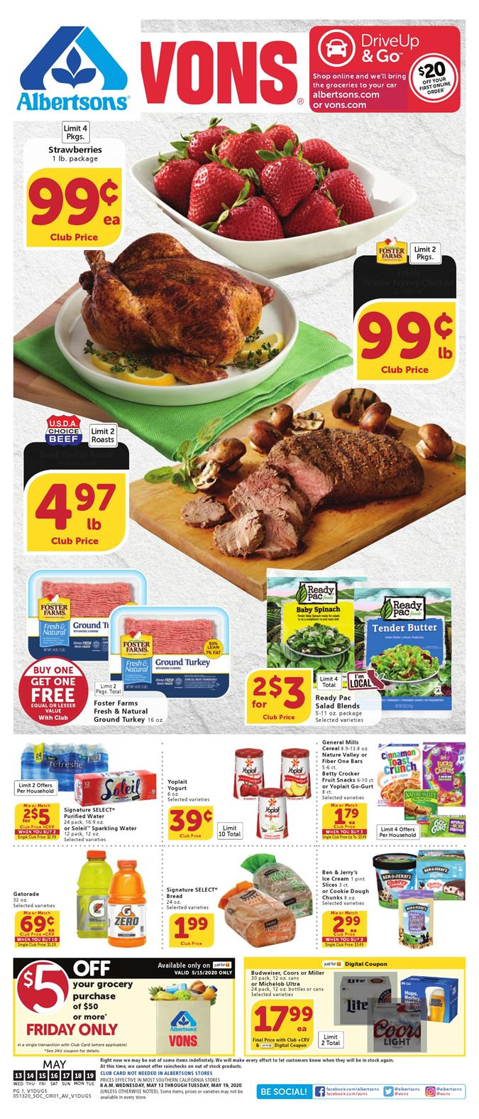 vons weekly ad may 13 2020