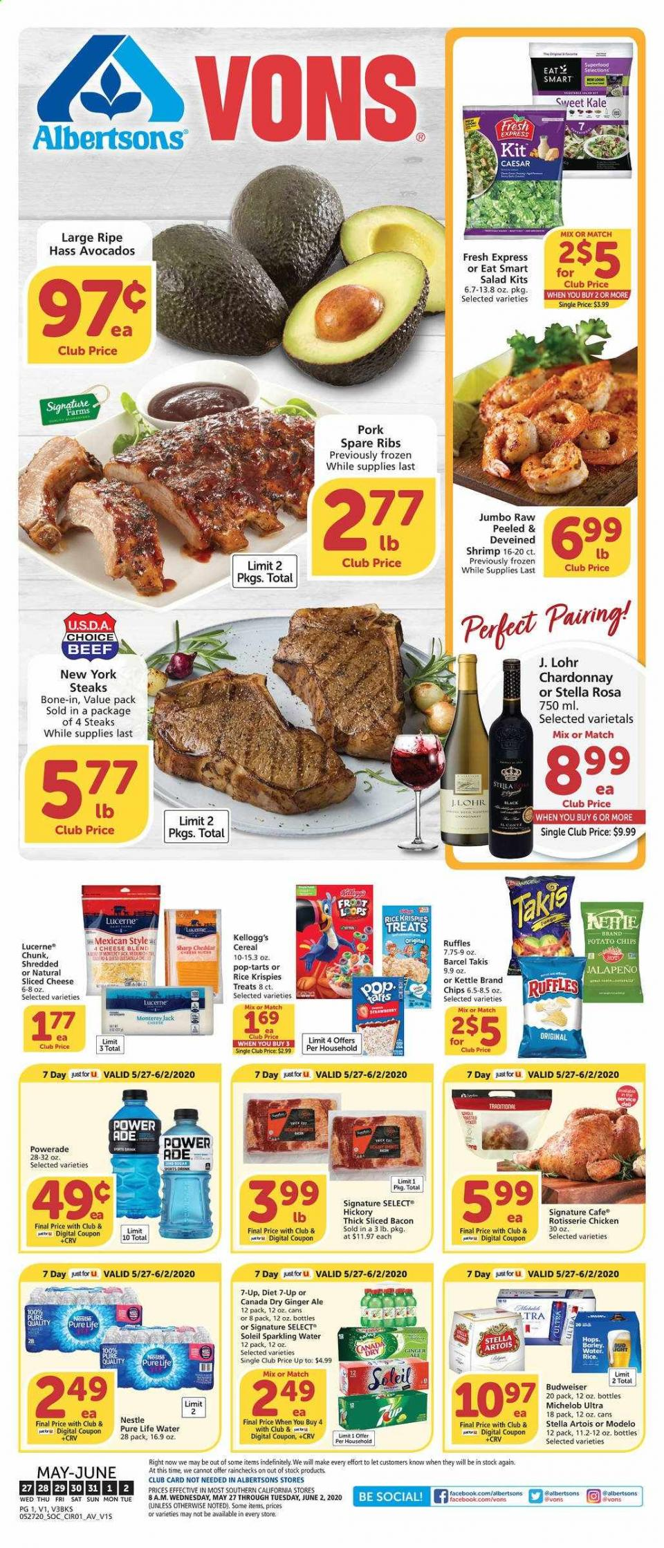 vons fresh produce final may weekly ad valid from may 27 jun 2 2020