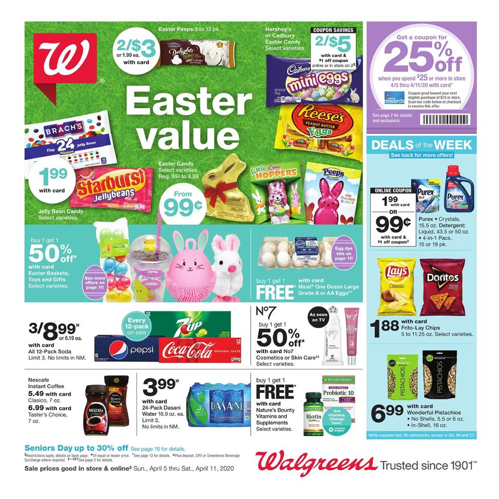 walgreens weekly ad apr 5 2020