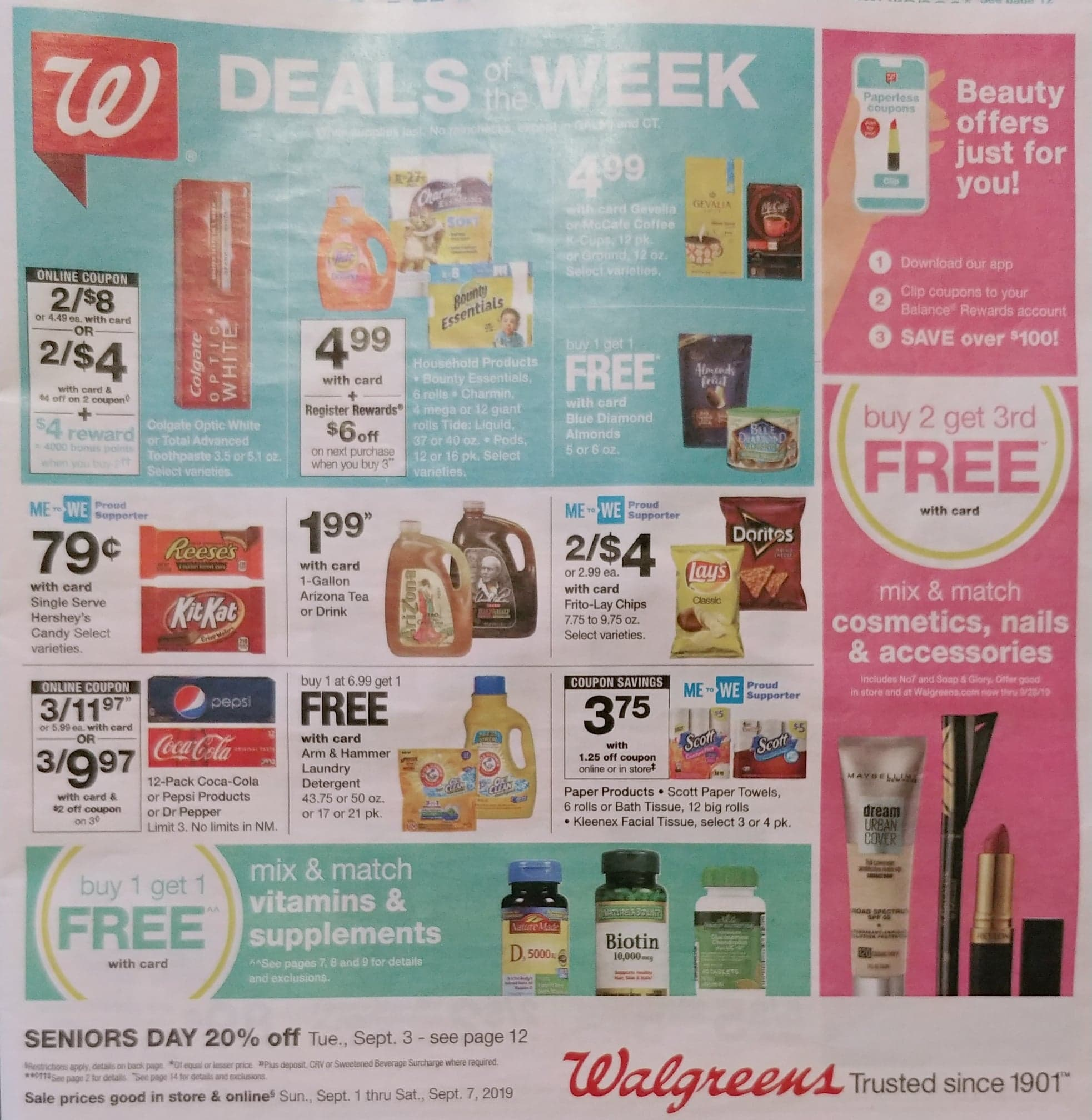 walgreens weekly ad preview sep 1 2019