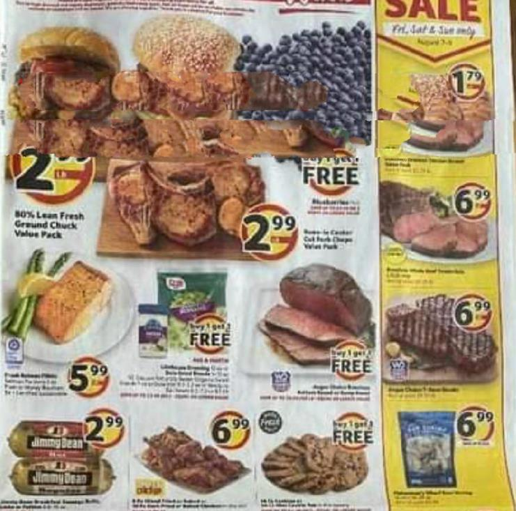 Winn Dixie Weekly August Ad valid from Aug 5 – 11, 2020