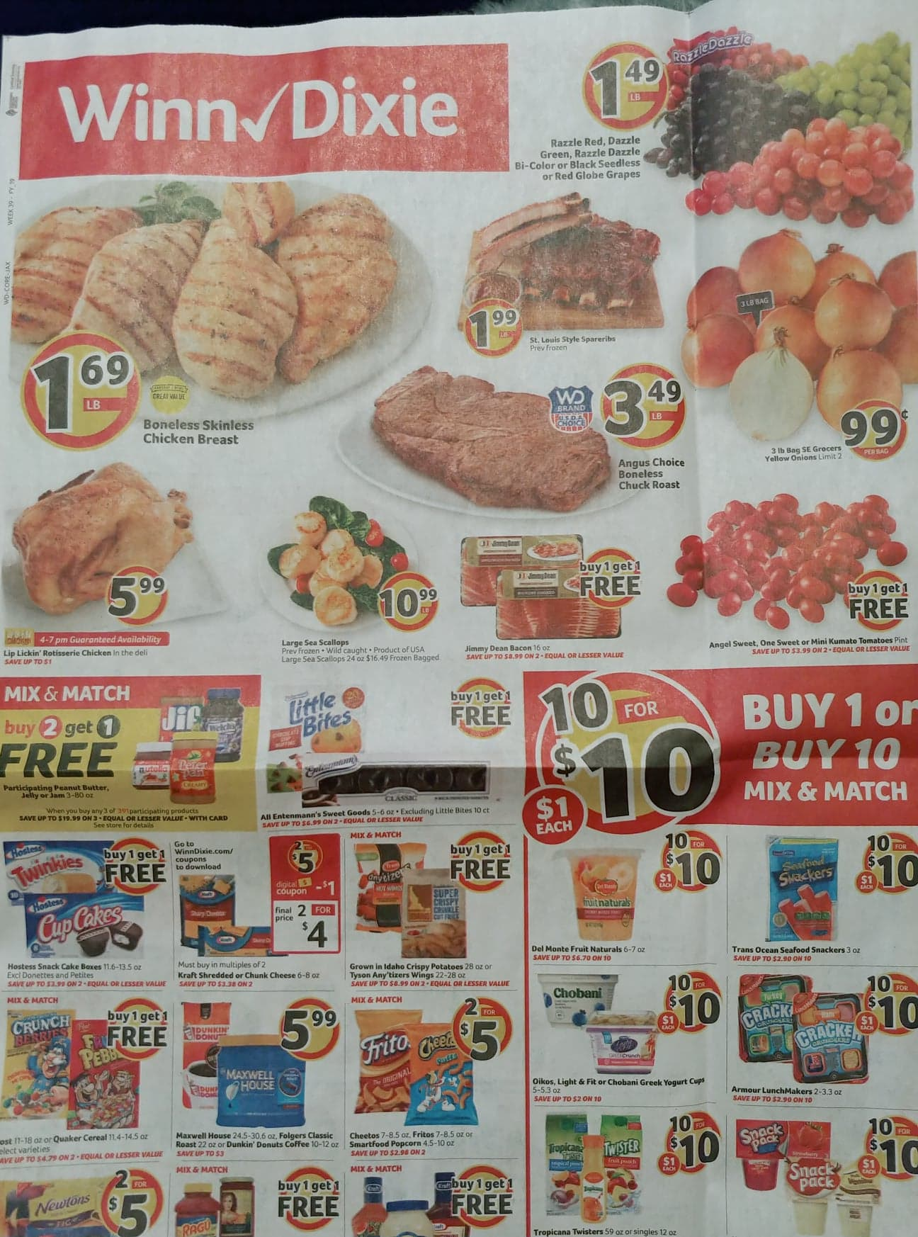 winn dixie weekly ad sep 18 2019